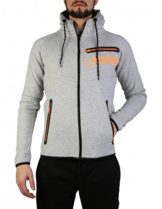 Sudadera Geographical Norway - Goltan grey orange