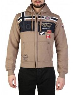 Sudadera Geographical Norway - Garadock taupe