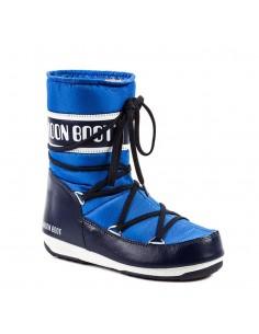 Botas Moon Boot mujer - azul