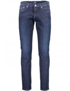 Gant - pantalón vaquero regular - azul