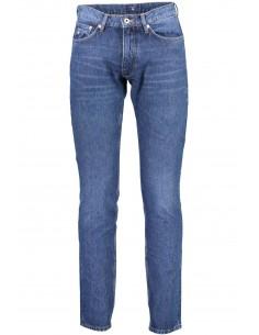 Gant - pantalón vaquero regular - azul claro