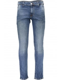 Guess pantalón vaquero slim - blue washed