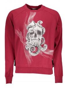 Just Cavalli felpa para hombre - skull red