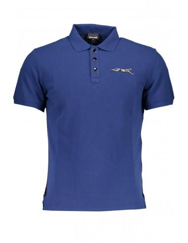 Just Cavalli polo para hombre - azul