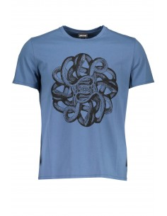 Just Cavalli camiseta para hombre - azul TALLA XXL