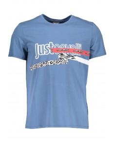 Just Cavalli camiseta para hombre - azul