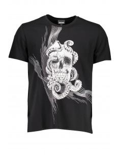 Just Cavalli camiseta para hombre - skull negra