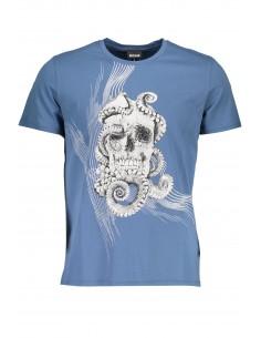 Just Cavalli camiseta para hombre - skull blue