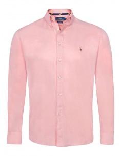 Camisa oxford Polo de hombre - old rose