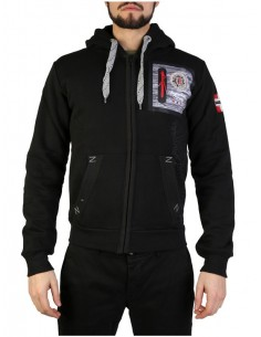 Sudadera Geographical Norway - Fitor black