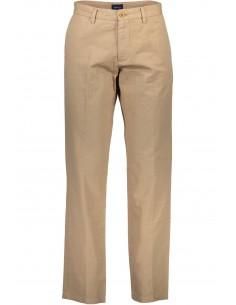 Gant - pantalón chino de lino - brown