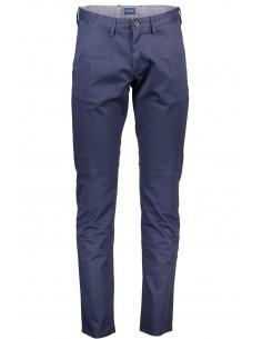 Gant - pantalón chino soft - blue