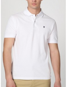 Polo Time of bocha pique - white