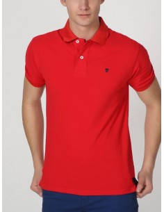 Polo Time of bocha pique - red