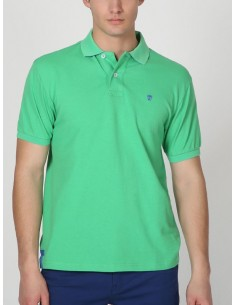 Polo Time of bocha pique - green