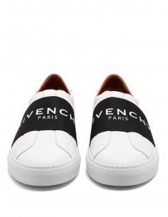 Givenchy zapatillas piel sin cordones - white black