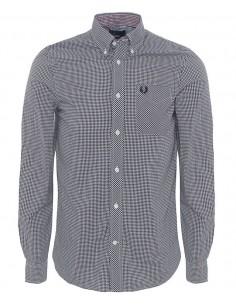 Camisa Fred perry - Classic Gingham black