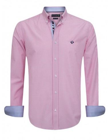 Camisa Sir Raymond Tailor - Vichy pink
