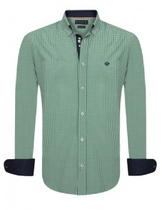 Camisa Sir Raymond Tailor - Vichy green