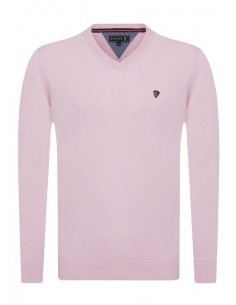 Jersey Sir Raymond Tailor de cuello pico - light pink
