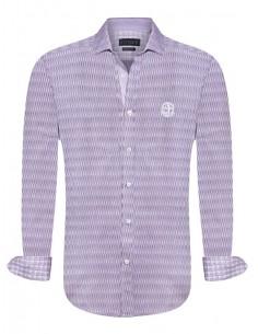 Camisa Sir Raymond Tailor - Fantasía violeta