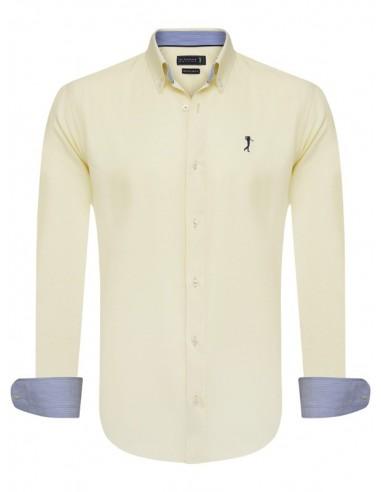 Camisa Sir Raymond Tailor - oxford yellow