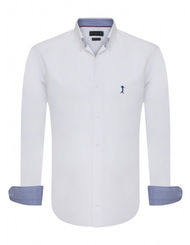 Camisa Sir Raymond Tailor - oxford blanca