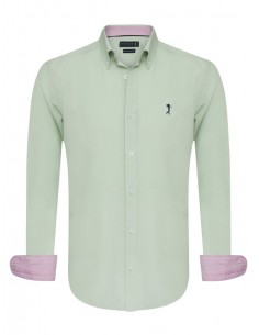 Camisa Sir Raymond Tailor - oxford green