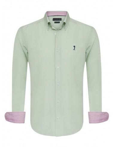 Camisa Sir Raymond Tailor - oxford green