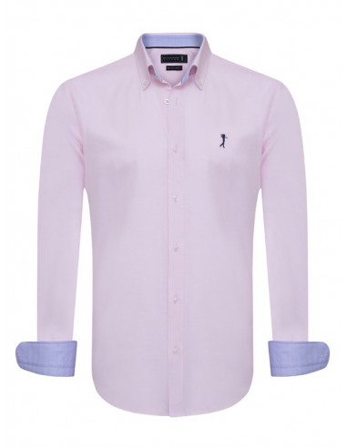 Camisa Sir Raymond Tailor - oxford pink