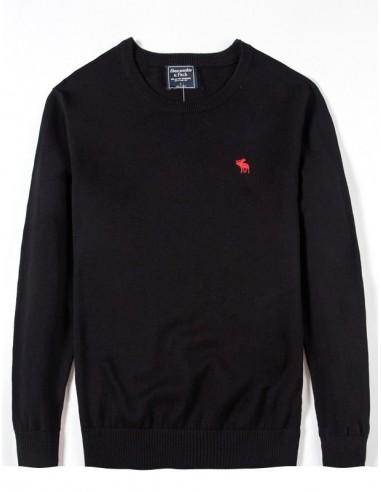 Jersey AF cuello redondo - negro