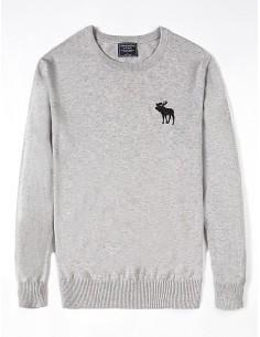 Jersey AF cuello redondo big logo - grey
