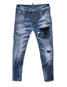 Dsquared jeans cool guy pocket - bluedenim