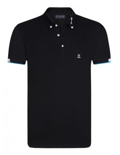 Polo Sir Raymond Tailor P181 - Black