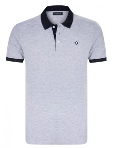 Polo Sir Raymond Tailor - TECNIQUE grey