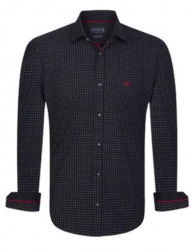 Camisa Sir Raymond Tailor - black fantasy