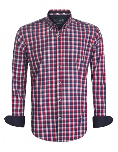 Camisa Sir Raymond Tailor - Cupped red
