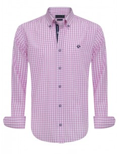 Camisa Sir Raymond Tailor - pink check