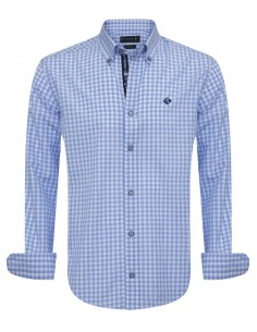 Camisa Sir Raymond Tailor - blue check