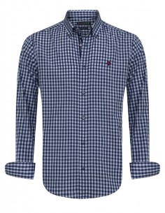 Camisa Sir Raymond Tailor - navy check
