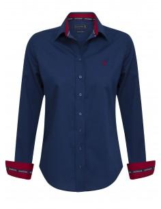 Camisa Sir Raymond Tailor para mujer - color marino