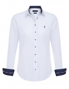 Camisa Sir Raymond Tailor para mujer - color blanco