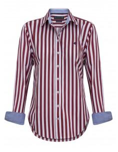 Camisa Sir Raymond Tailor para mujer - rayas marino