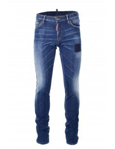 Dsquared jeans slim fit - azul oscuro