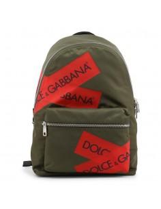 Dolce Gabbana mochila en color verde militar con logotipo