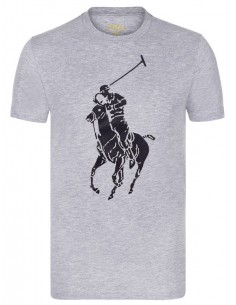 Camiseta icónica big pony gris