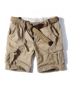 Bermudas de AF con bolsillos cargo para hombre - beige