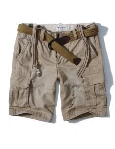 Bermudas de AF con bolsillos cargo para hombre - piedra