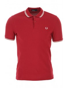 Polo básico hombre Fred Perry - red/white