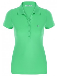 Polo lacoste mujer - verde